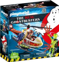 Playmobil 9385 The Real Ghostbusters: Venkman with Helicopter